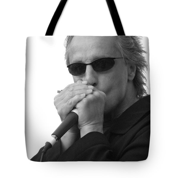 Bluesman James Montgomery Tote Bag