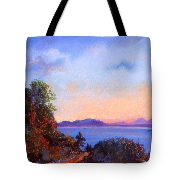 Bluff Tote Bag by Susan Will