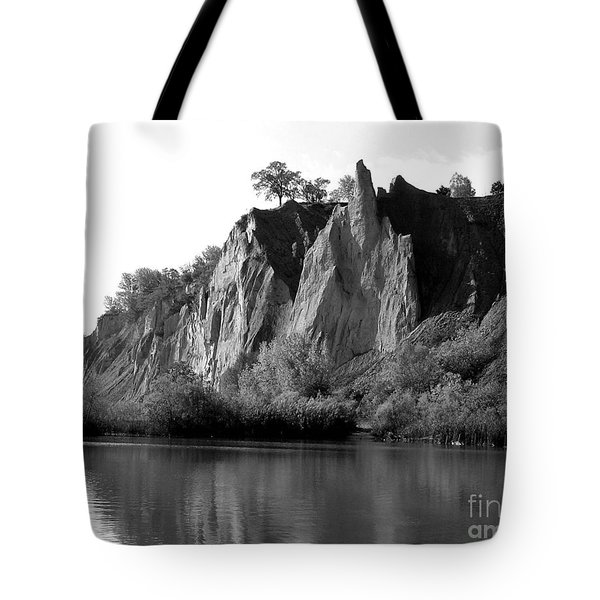 Bluffers Park Toronto Canada Tote Bag by Susan  Dimitrakopoulos