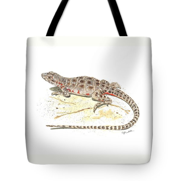 Blunt-nosed Leopard Lizard  Tote Bag