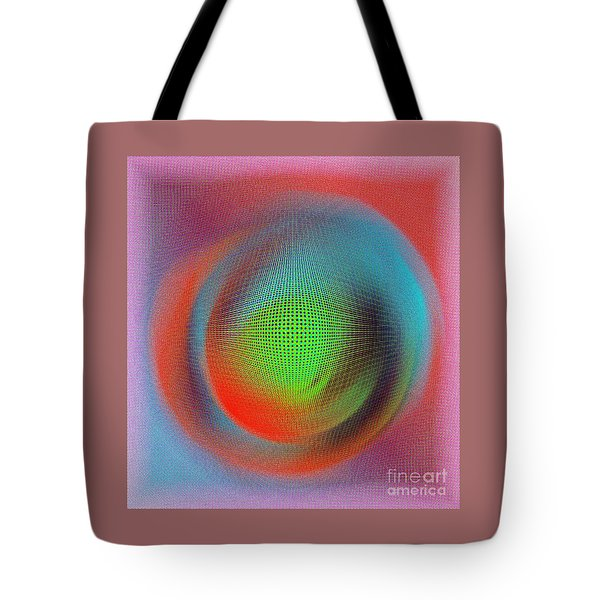 Blur Tote Bag by Iris Gelbart
