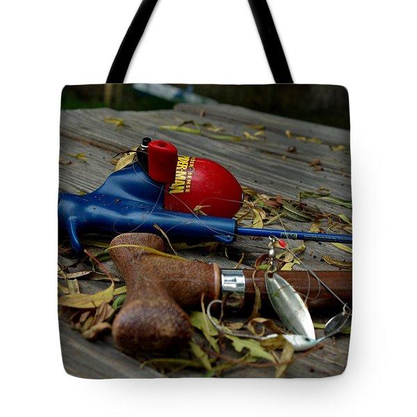 Blured Memories 01 Tote Bag by Peter Piatt