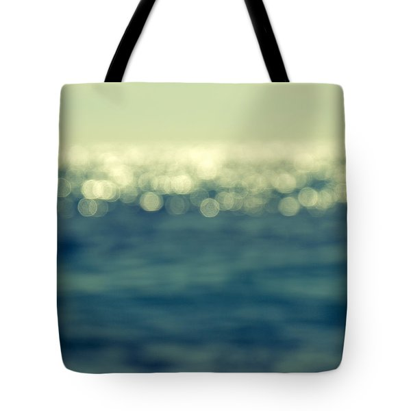 Blurred Light Tote Bag