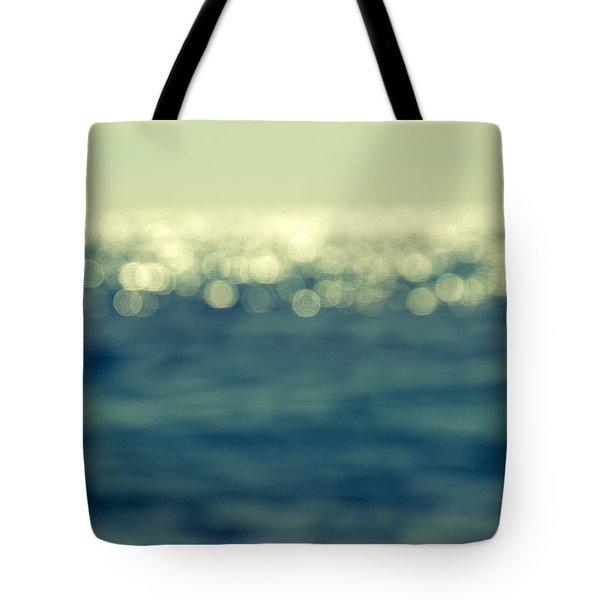 Blurred Light Tote Bag