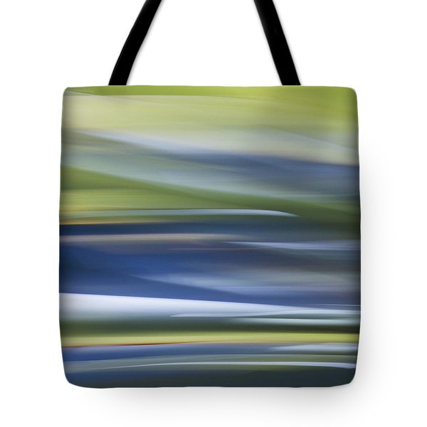 Blurscape Tote Bag by Dayne Reast