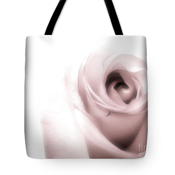 Blush Tote Bag by Peggy Hughes