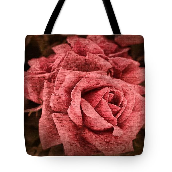 Tote Bag featuring the photograph Blush by Wallaroo Images