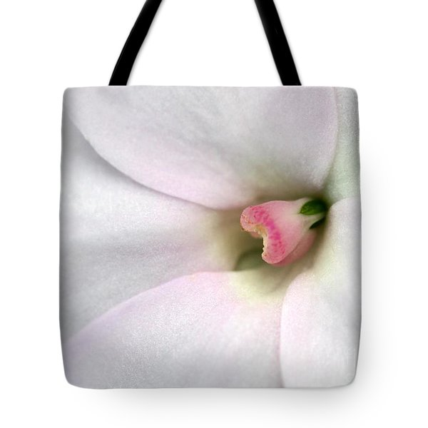 Blushed Tote Bag by Sabrina L Ryan