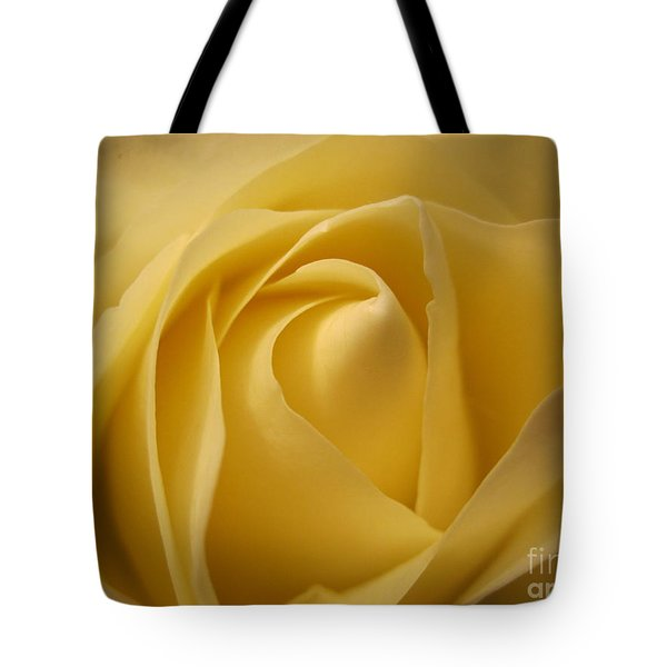 Blushing Cream Rose  Tote Bag