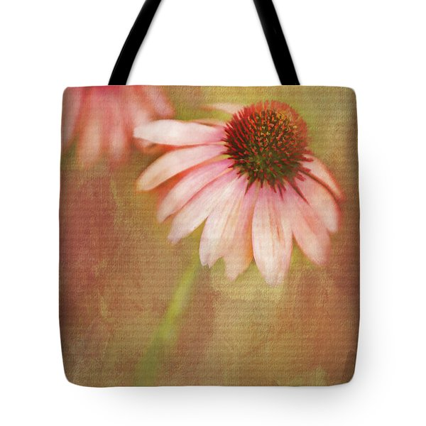 Tote Bag featuring the painting Blushing by Linda Blair
