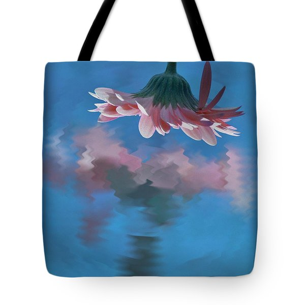 Blushing Pink Bloom Tote Bag