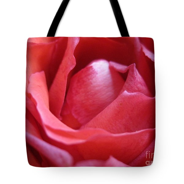 Blushing Pink Rose Tote Bag