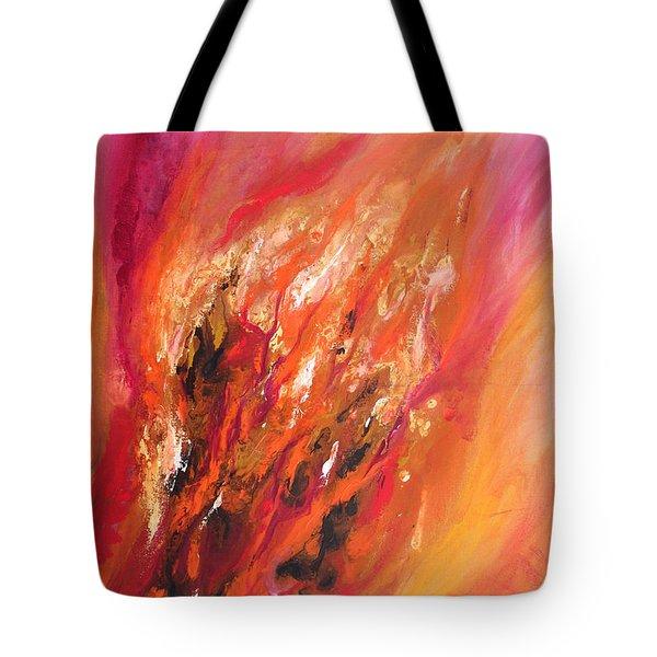 Blushing Tote Bag