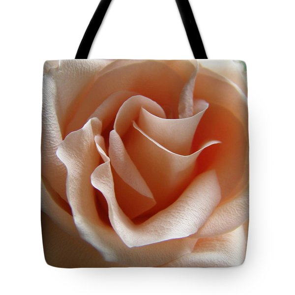 Blushing Rose Tote Bag by Margie Amberge