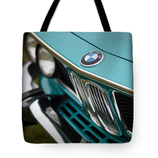 Bmw 3.0 Cs Front Tote Bag by Mike Reid