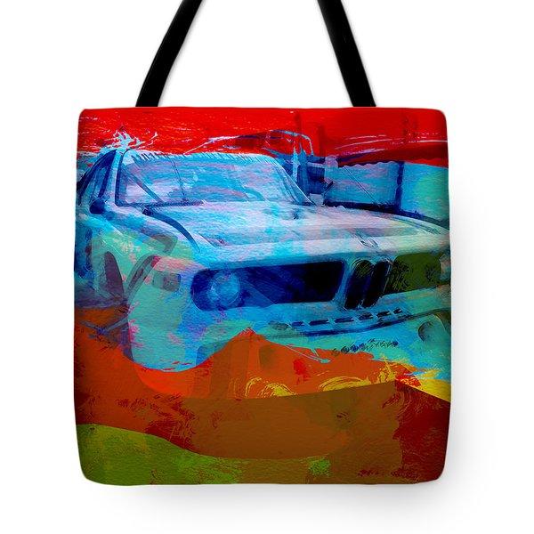 Bmw Laguna Seca Tote Bag by Naxart Studio
