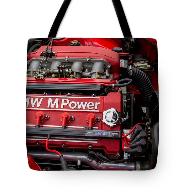 Bmw M Power Engine Tote Bag