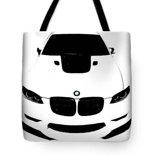 Bmw White Tote Bag
