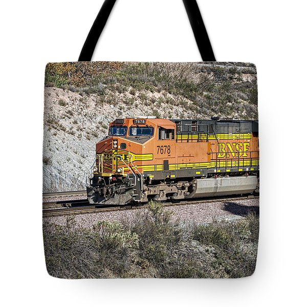 Tote Bag featuring the photograph Bn 7678 by Jim Thompson