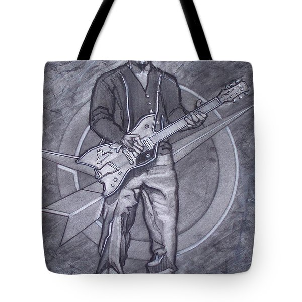 Bo Diddley - Have Guitar Will Travel Tote Bag