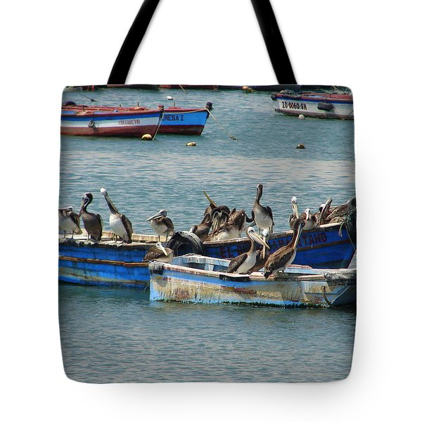 Board Meeting Tote Bag by Lew Davis