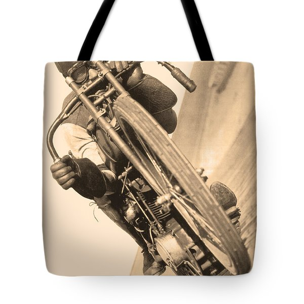 Board Track Racer Tote Bag