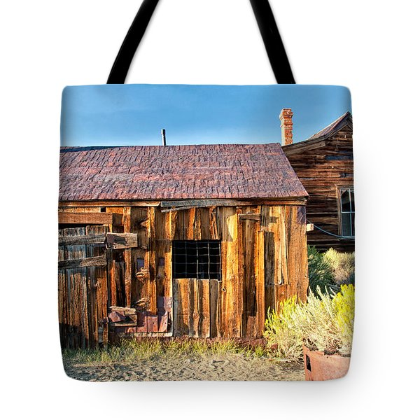 Boarded Up Tote Bag by Cat Connor