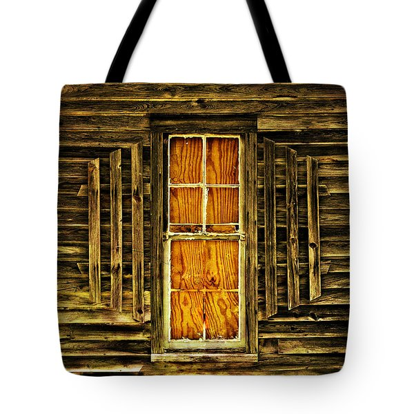 Boarded Window Tote Bag by Marty Koch