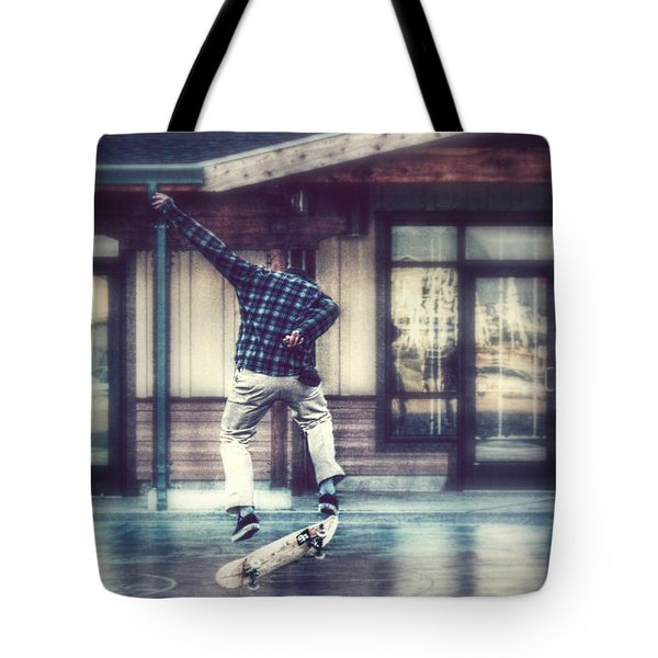 Tote Bag featuring the photograph Boarder Bliss by Melanie Lankford Photography