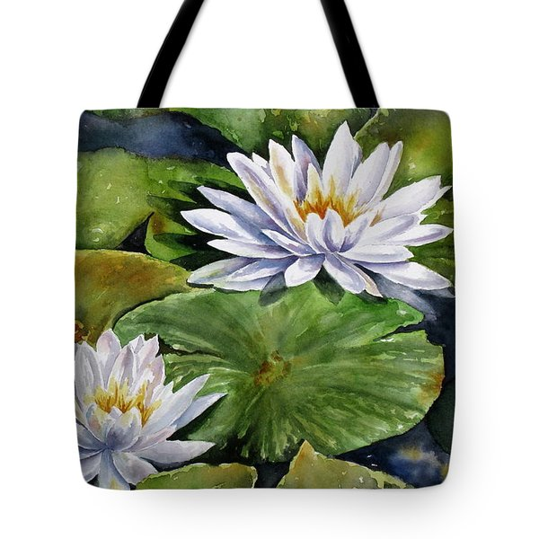 Boardwalk Lilies Tote Bag by Mary McCullah