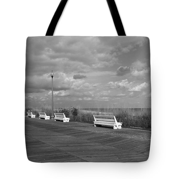 Boardwalk Memories Tote Bag by Arlene Carmel