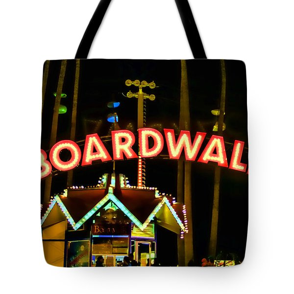 Boardwalk Tote Bag by Digital Kulprits