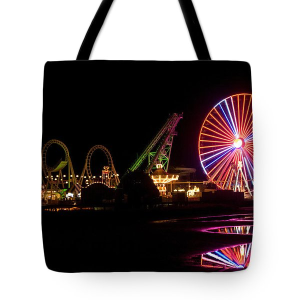 Boardwalk Night Tote Bag