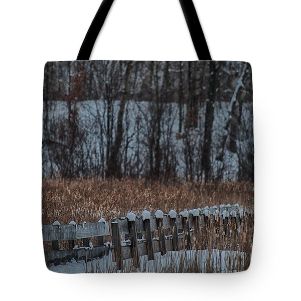 Tote Bag featuring the photograph Boardwalk Series No2 by Bianca Nadeau