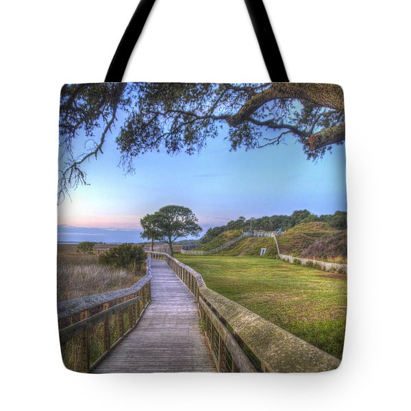 Boardwalk To History Tote Bag