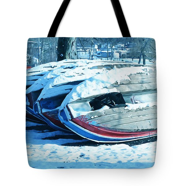 Boat Hire On Holiday Tote Bag by Jutta Maria Pusl