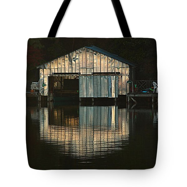 Boat House Effects Tote Bag