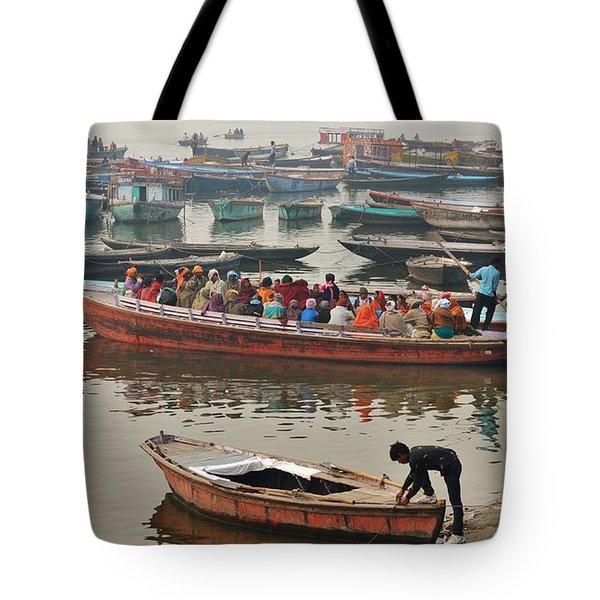 The Journey - Varanasi India Tote Bag