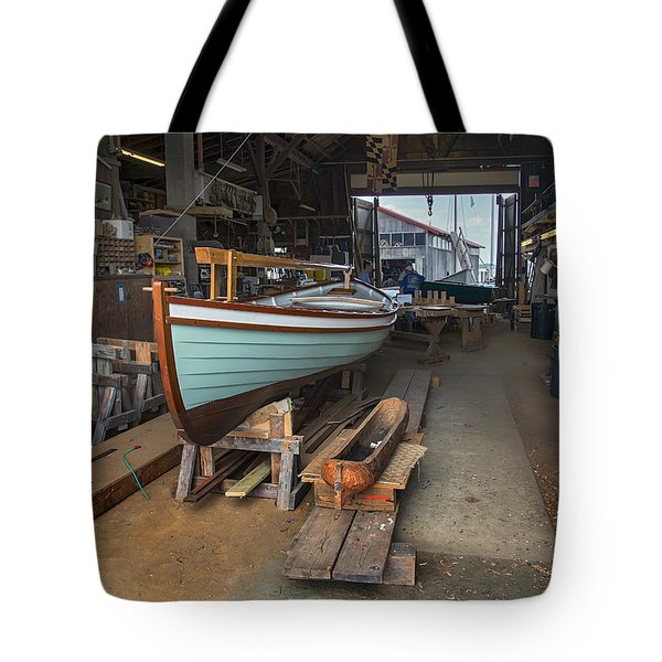 Boat Shop Tote Bag