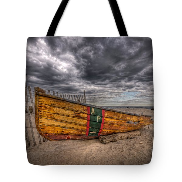 Boat Wreckage Tote Bag
