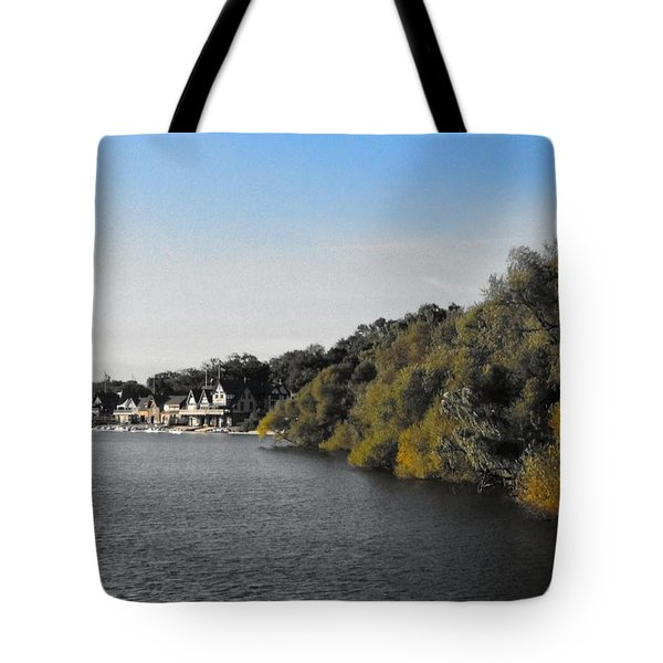 Tote Bag featuring the photograph Boathouse II by Photographic Arts And Design Studio