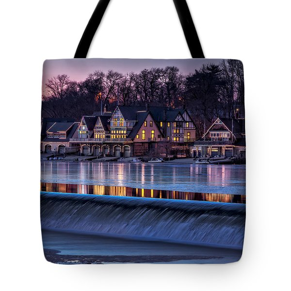 Boathouse Row Tote Bag