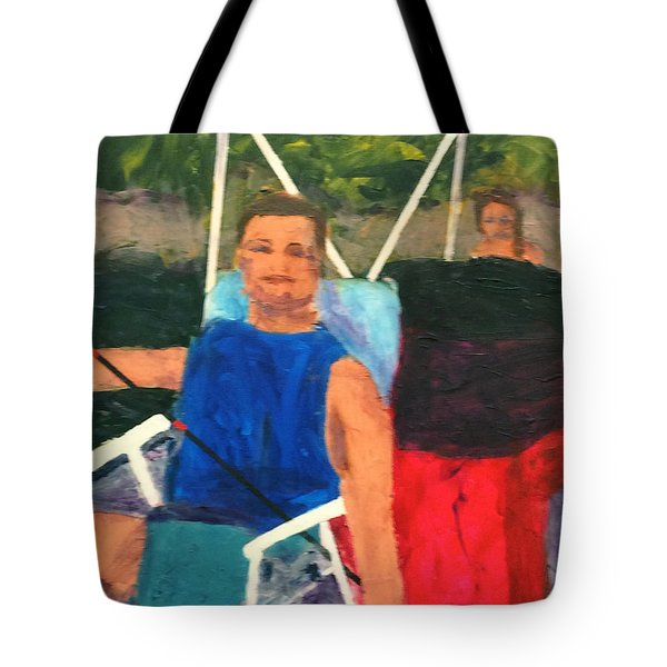 Boating Tote Bag by Donald J Ryker III