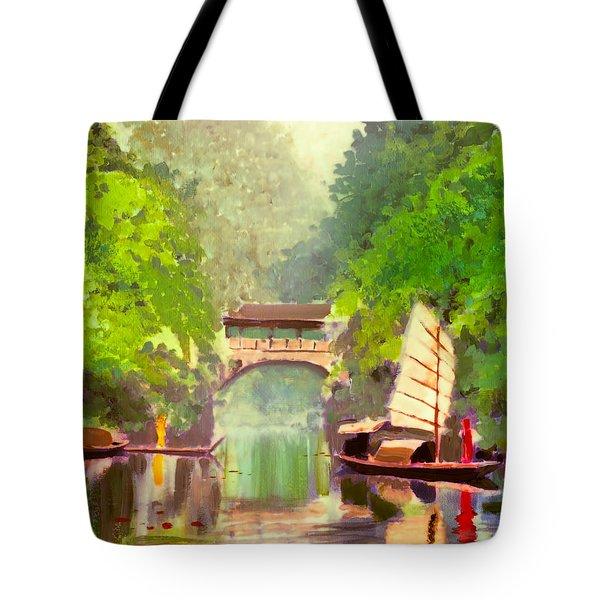 Boatmen Tote Bag