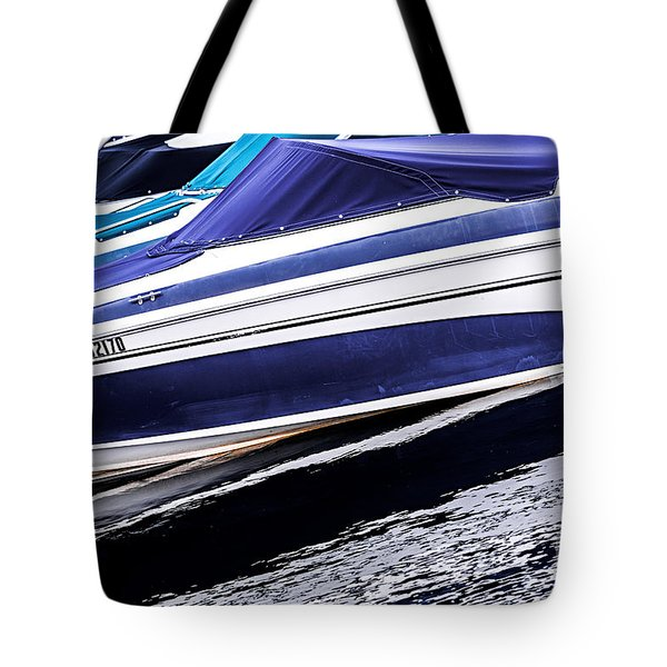 Boats And Reflections Tote Bag by Elena Elisseeva