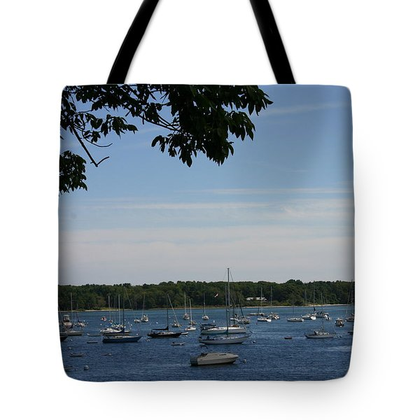 Tote Bag featuring the photograph Boats At Rest by Denyse Duhaime