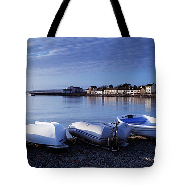 Boats On The Beach, Instow, North Tote Bag