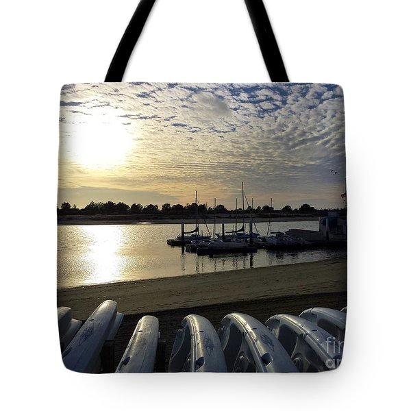 Tote Bag featuring the photograph Boats Ready by Jasna Gopic