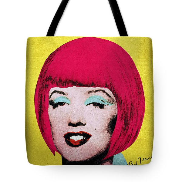 Bob Marilyn  Variant 1 Tote Bag by Filippo B