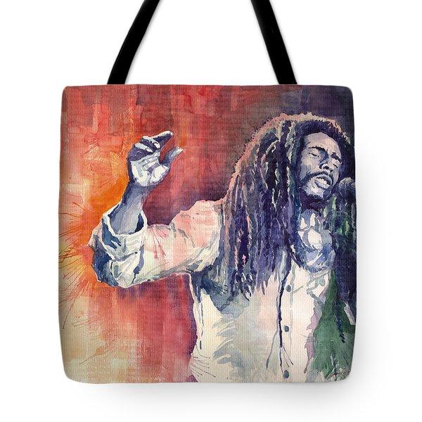 Bob Marley 01 Tote Bag